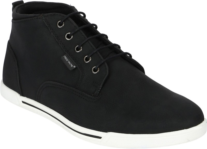 Red Tape Chukka Boots For Men(Black)