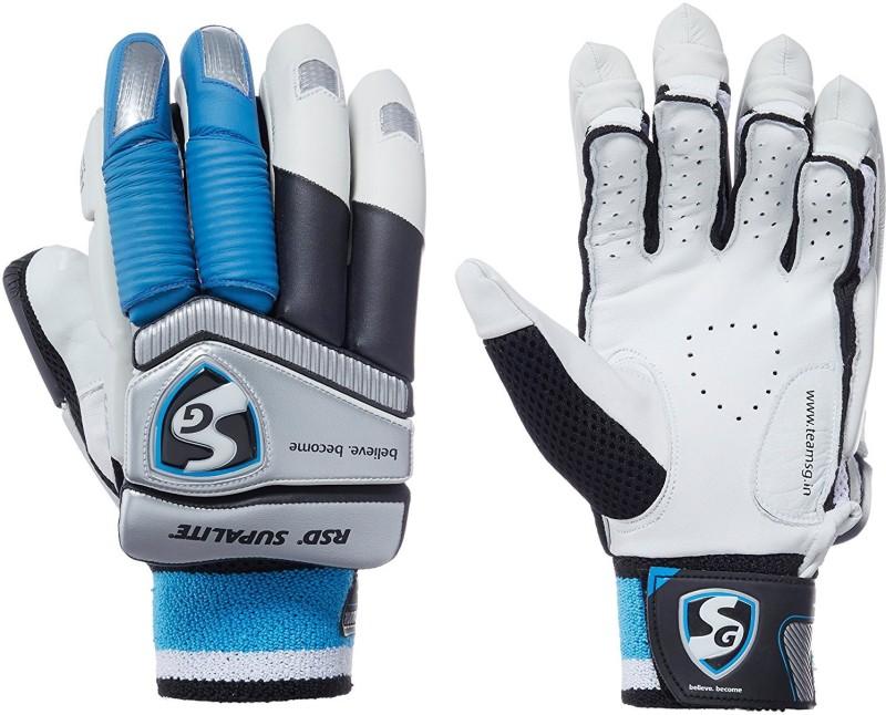 SG RSD SUPALITE BATTING GLOVES Batting Gloves (Men, White)