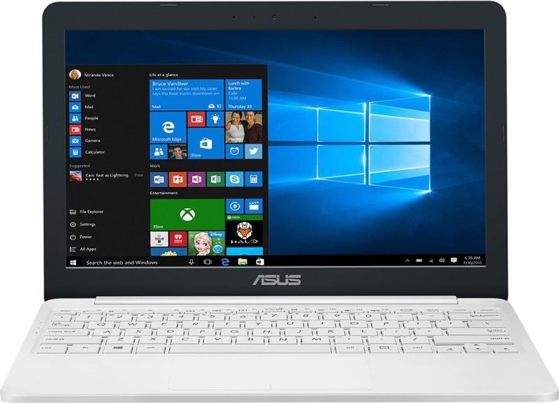Asus Celeron Dual Core - (2 GB/500 GB HDD/Windows 10 Home) E203NAH-FD081T Laptop(11.6 inch, Pearl White, 1.2 kg)