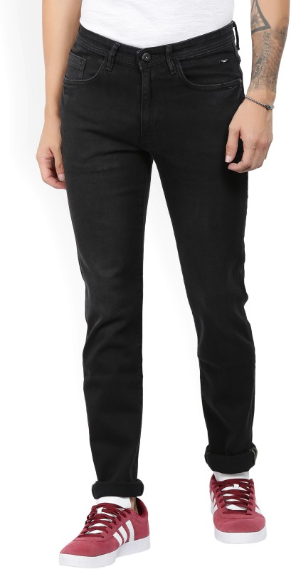 V Dot by Van Heusen Slim Mens Black Jeans