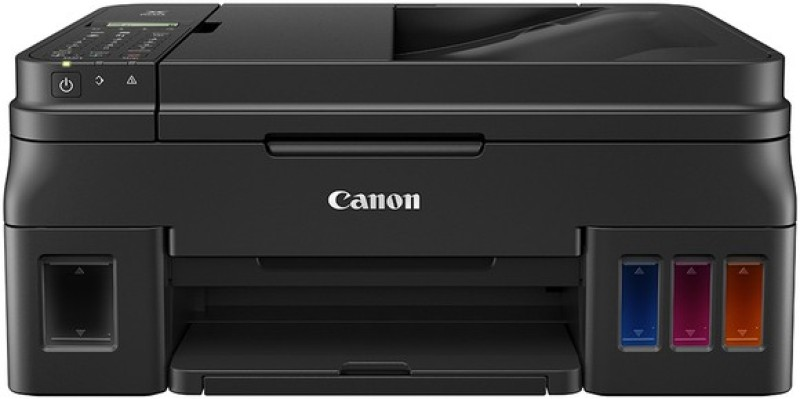 Canon Pixma G4010 All in One Inkjet Printer Multi-function WiFi Color Printer(Black, Ink Bottle)