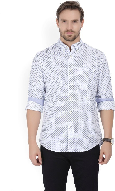 Tommy Hilfiger Men Printed Casual Multicolor Shirt