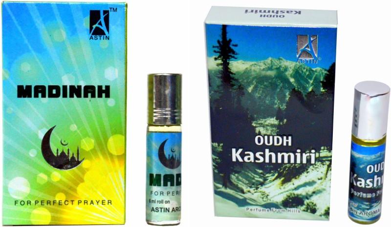 Astin Madinah and Kashmiri Oudh UAE Edition Perfume - 12 ml(For Men & Women)