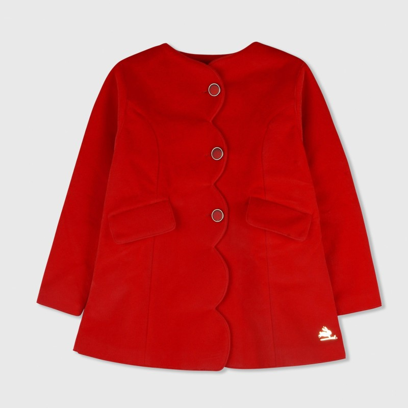 Cherry Crumble California Baby Boys & Baby Girls Single Breasted Coat