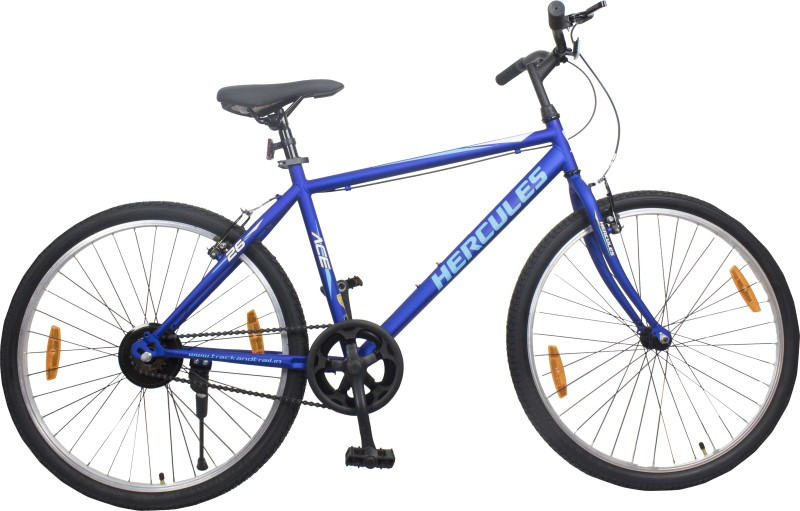 HERCULES ACE 26 T Hybrid Cycle/City Bike(Single Speed, Blue)