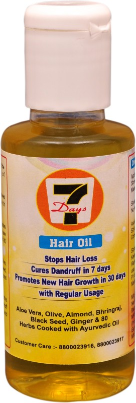 7 days HAIR GROWTH OIL Hair Oil(100 ml)