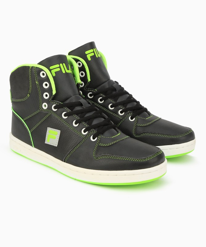 Fila HOPPER III High Tops For Men(Black)