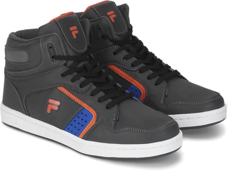 Fila ATTAVIO II Basketball Shoes For Men(Grey, Orange)