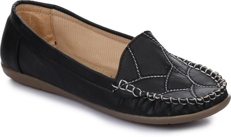 AADVIT Loafers For Women(Black)