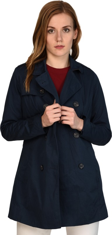 MansiCollections Womens Double Breasted Coat