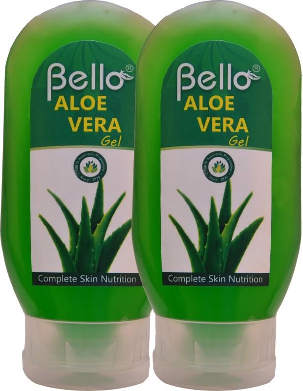 Bello Aloe vera Gel (95%) pack of 2(240 ml)