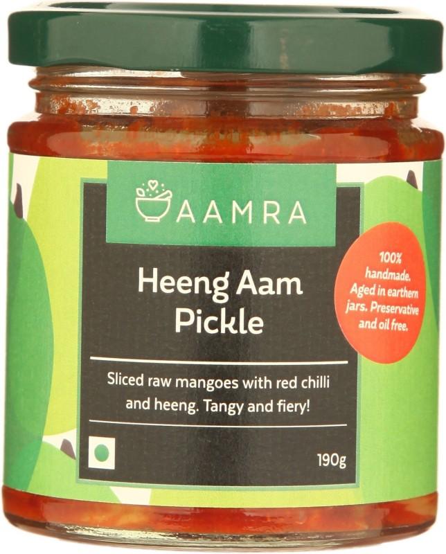 AAMRA Heeng Aam Pickle Mango Pickle(190 g)