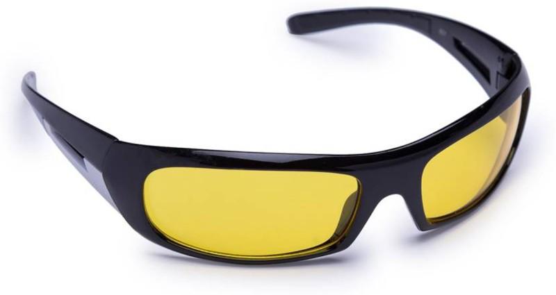 LENSFRY.COM Wrap-around Sunglasses(Yellow) image