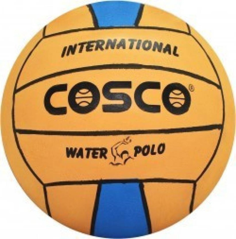 Cosco - International Water Polo Ball (Color On Availability)- Water Polo Ball(Pack of 1, Multicolor)