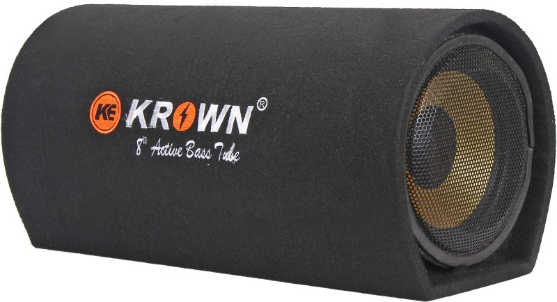 Krown CBT-8AM 8 Inch Basstube With Inbuilt Amplifier 3800W PMPO Subwoofer(Powered , RMS Power: 600 W)