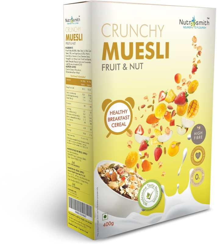 Amore Crunchi Muesli Fruit & Nut(400 g, Box)