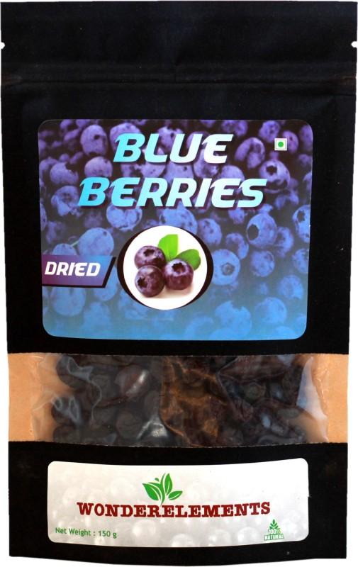 Wonderelements Dried Blueberries 150 g(Dried Blueberries)