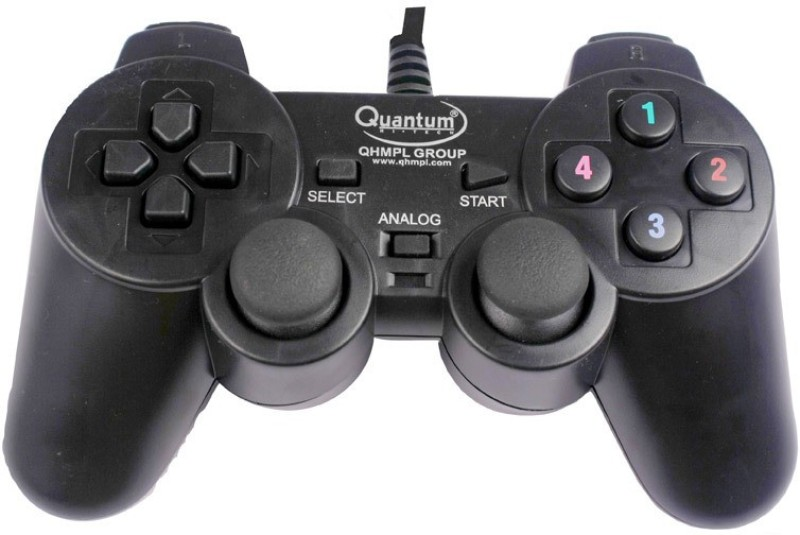 QHMPL 2 way vibration Handheld Gaming Console(Black)