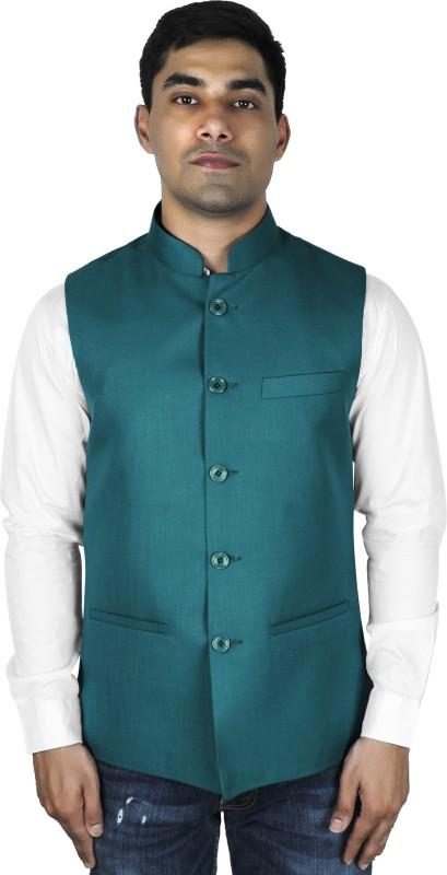 LaRainbow Sleeveless Solid Mens Jacket