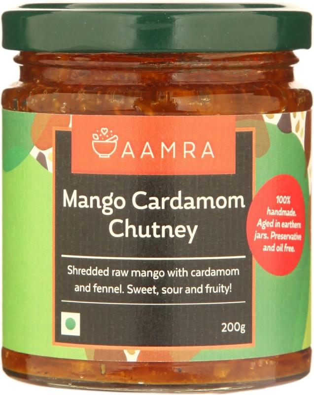 AAMRA Mango & Cardamom Chutney Mango Pickle(200 g)