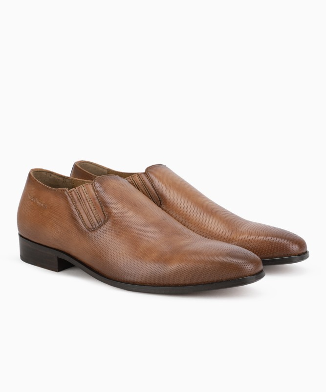 Hush Puppies Slip On For Men(Brown)