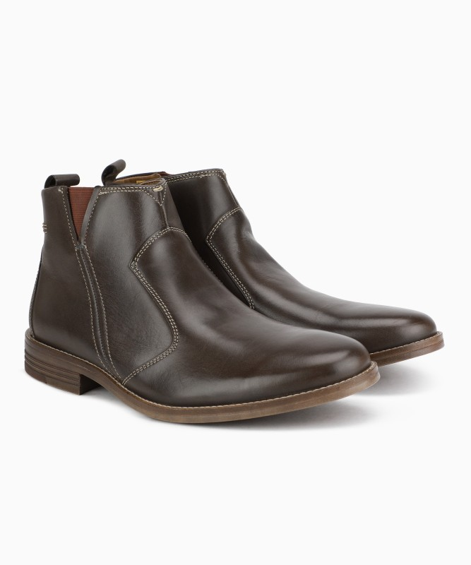 Hush Puppies Boots For Men(Brown)