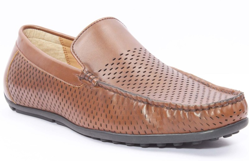 San Frissco Casual Shoes Loafers For Men(Tan)