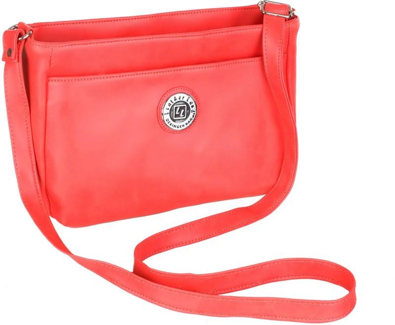 Leather Land Pink Sling Bag