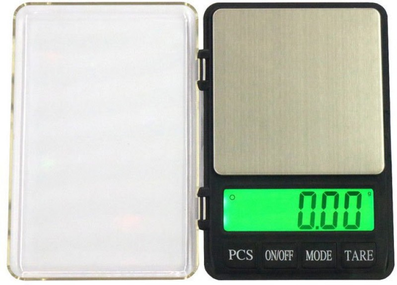 Divinext Weight + Pcs Count Digital Electronic Weighing Scale Notebook Jewellery Scale + Bright LCD Green Colour Backlight MH-999 for Dry & Liquid Materials Digital Table Top, Counter, Kitchen, Personal Jewellery Weighing Scale with Auto Calibration Weighing Scale(Black)