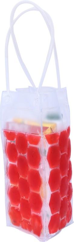 Celby Celby Wine Bag Beer Bottle Cooler in color Red (Combo of 2) … Bottled Wine Cooler(Red, 1 Bottles)