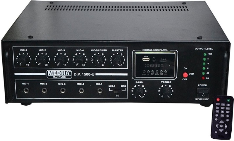 Medha MD-1600UBTAMP 160 W AV Power Amplifier(Black)
