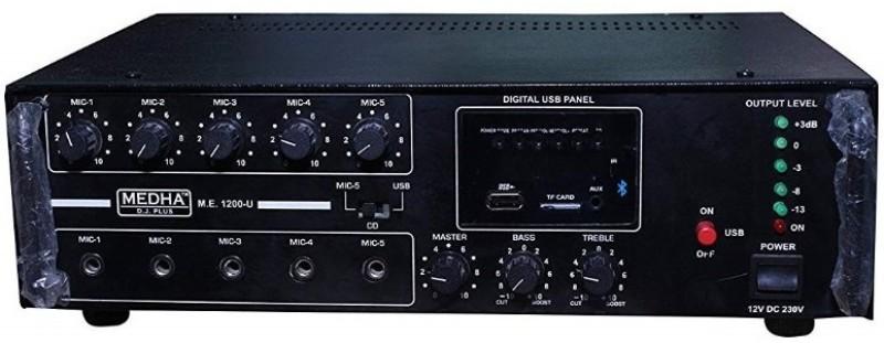 Medha MD-1200UBT 120 W AV Power Amplifier(Black)