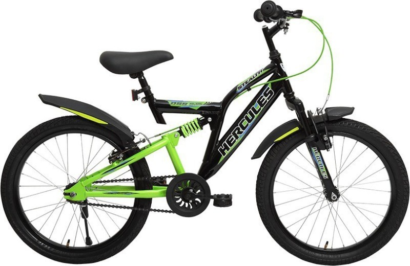 HERCULES STEALTH 20 T Single Speed Road Cycle(Green)