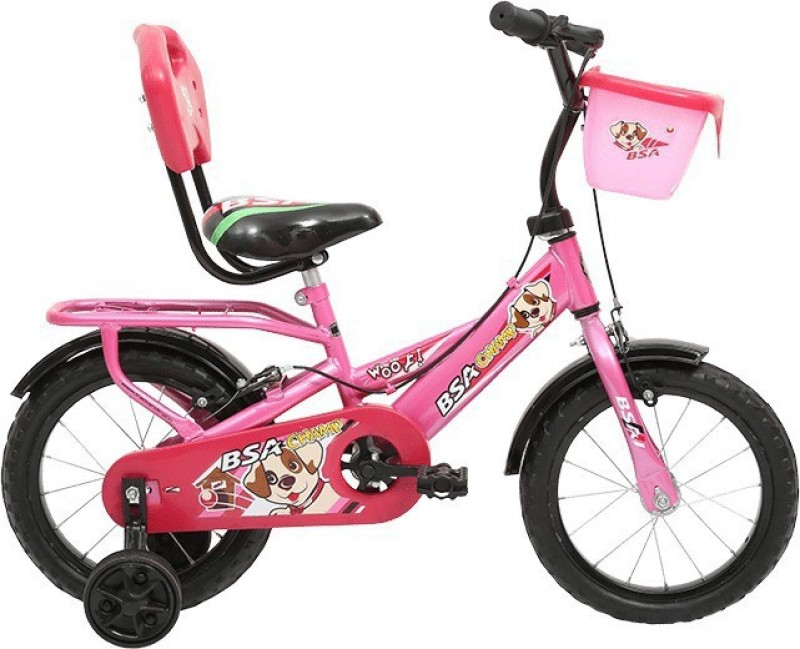 BSA WOOF 14 T Single Speed Road Cycle(Pink)
