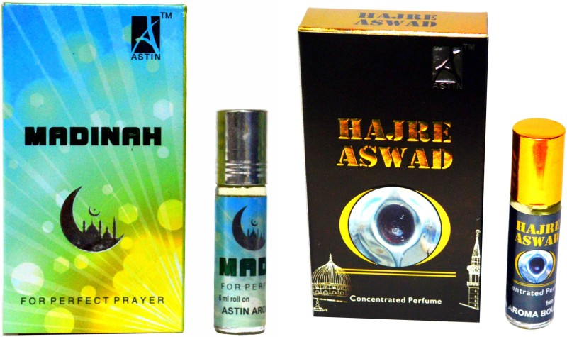 Astin Madinah and Hajre Aswad UAE Edition Perfume - 12 ml(For Men & Women)