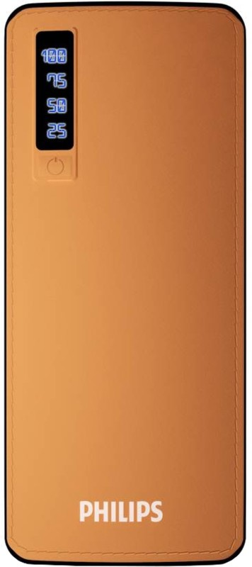 Philips 11000 mAh Power Bank (Fast Charging, 10 W)(Brown, Lithium-ion)