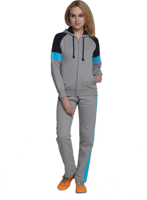 Wake Up Competition Solid Women's Track Suit