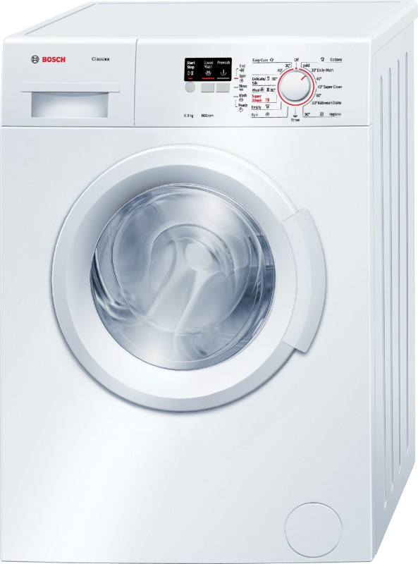 Bosch 6 kg Fully Automatic Front Load Washing Machine White(WAB16060IN)