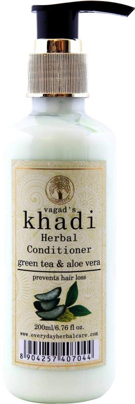 Vagads Khadi Green Tea And Aloe Vera Conditioner(200 ml)