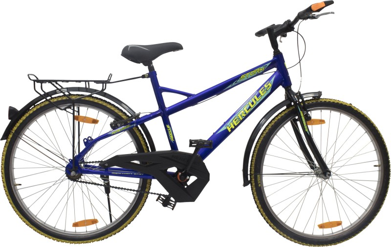 HERCULES Storm RF 24 T Mountain Cycle(Single Speed, Black)