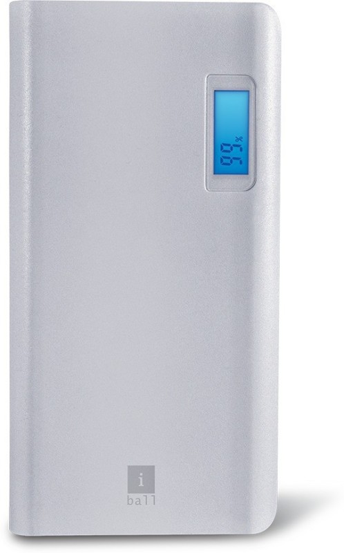 iBall 20000 Power Bank (PB-20007, 20000MAH POWERBANK)(White, Lithium Polymer)