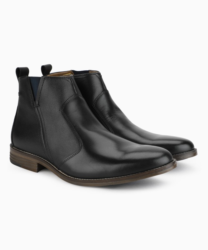 Hush Puppies Boots For Men(Black)