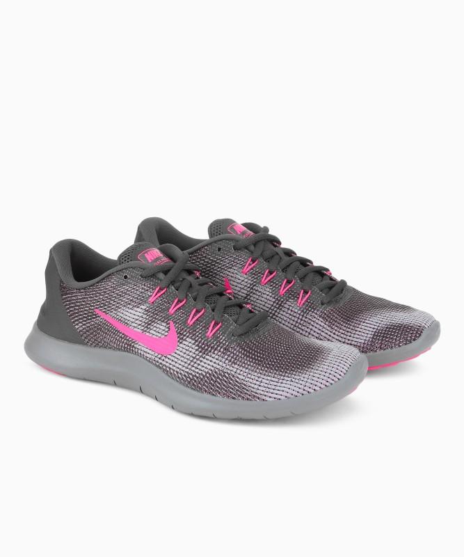 Nike WMNS NIKE FLEX 2018 RN Running Shoes For Women(Grey)