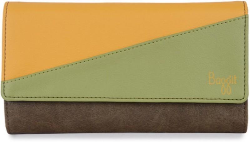 Baggit Women Casual Multicolor Artificial Leather Wallet(6 Card Slots)