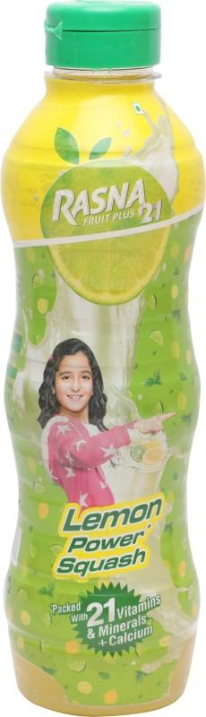 Rasna Fruit Plus 21 Lemon Power Squash(750 Ml)