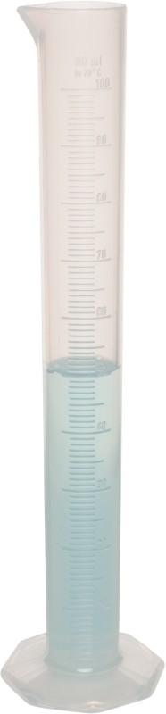 El-con El-A106 Borosilicate Glass Graduated Cylinder(100 ml)