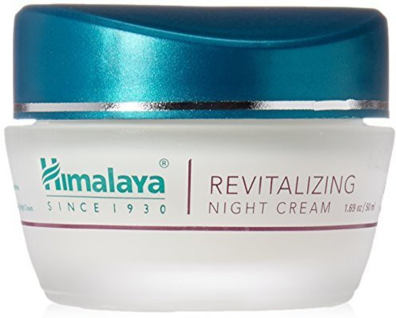 Himalaya Revitalizing Night Cream Restores And Rejuvenates AlcoholFree(49.98 ml)