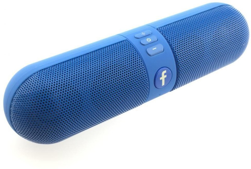 Padraig Wireless Capsule Bluetooth Speaker With FM / Pen drive & SD Card Input,Mic, High Definition Audio 1 Bluetooth Speaker(Blue, Stereo Channel)