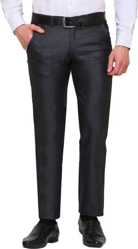 22B Slim Fit Mens Dark Blue Trousers