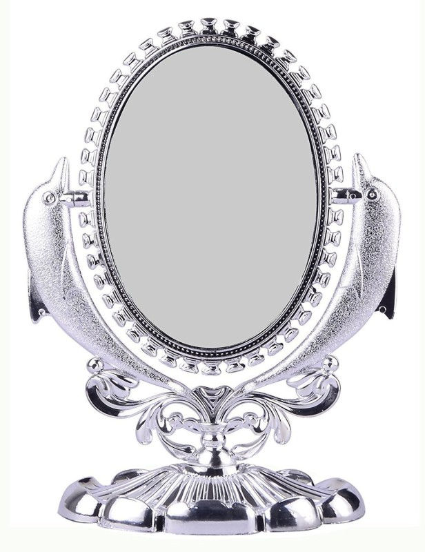 AASA oval shaped double sided makeup mirror for women, Decorative Mirror(Oval)
